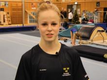 Jonna Adlerteg tränar inför OS-kval i London den 11 jan 2012