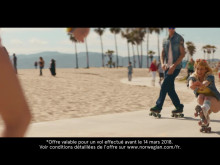 "Film publicitaire ""America just like in the movies"" 30sec - Los Angeles et Boston dès 179€"