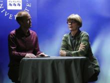 Mattias Lundberg intervjuar Prof.Eva Magnusson på Psykologisk Salong 1 november 2012. #psykologi #umu #umeå