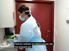 Isolerad på sjukhuset – så går det till