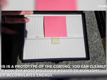 Video: A window film which could even out the indoor temperature using solar energy