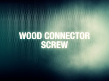 ESSVE Wood Connector Screw