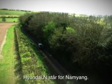 Test av Hyundai i30 N på engelske landeveier