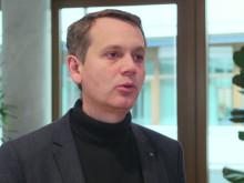 Christoph Werner erläutert die Besonderheiten von dm im Umgang mit den Themen Nachhaltigkeit und Zukunftsfähigkeit.
