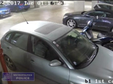 CCTV of the motorbike theft