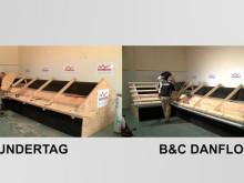 B&C DANFLOCK - 40% hurtigere oplægning