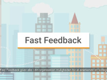 CatalystOne introducere Fast Feedback - Til hurtig, nem og uformeld feedback