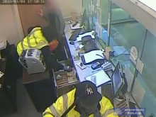 CCTV footage of robberies