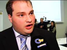 Oberpfalz TV - Nachrichtenbeitrag Pressekonferenz Breitbandausbau am 12.02.2015