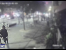 CCTV footage of attack