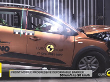 Dacia Sandero Stepway Euro NCAP passive and active safety testing video - April 2021