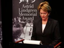 Kulturministerns tal vid tillkännagivandet av årets pristagare
