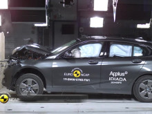 BMW 1 Series Euro NCAP testing October 2019