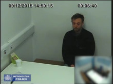 Police interview footage