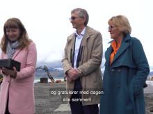 Første spadetak for en ny nordnorsk industri