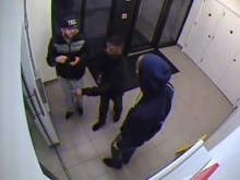 CCTV image of two people police wish to speak with