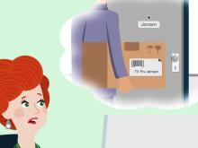 Modtage og send dine onlinekøb i myRENZbox
