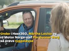 Den store finalen i ryggekonkurransen #Hest360FordChallenge på Øvrevoll Galoppbane
