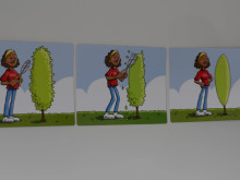 Sekvenskort för whiteboardtavlan