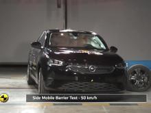 Vauxhall Corsa Euro NCAP testing November 2019