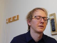 Marcus Lundberg tilldelades 200 000 kronor i forskningsanslag
