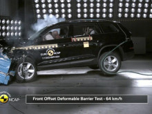 Skoda Kodiaq - Euro NCAP crash testing - May 2017