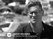 Möt Anders Molin, ägare av Aderbys Rör och del av Comfort-kedjan