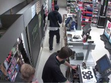 CCTV of Eltham robbery