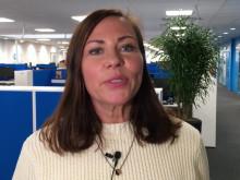 Video med Camilla Ögren som berättar om Resurs Banks partnerskap med Cancerfondens Rosa Bandet Kampanj 2016