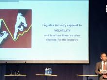 Tisdag 22 maj på Logistik och Transportmässan 2012 - Dr Detlef Trefzger