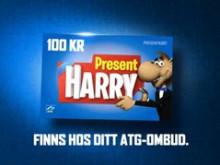 ATG Julfilm Harrys Presentkort