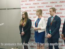CEO1Month 2016 arviointipäivä ja valinta
