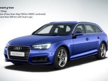 Audi A4 Avant g-tron e-gas proces