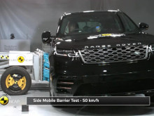 Range Rover Velar - Crash Tests video montage - October 2017