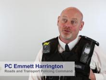 PC Emmett Harrington – Special Recognition