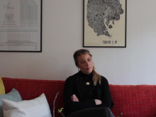 "Frida Ronge i Visitas ""Världens Jobb""-kampanj"