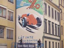 Så skapades Lendos väggmålning 30s