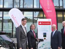 Audiobeitrag: Santander macht E-mobil