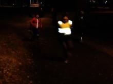 Cirkellöpning på tre stationer med B.A.B.Y. Runners Team Eskilstuna