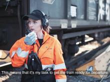 Green Cargo medarbetarporträtt: Emma Rulander radioloksoperatör och fritidsodlare