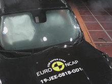 Jeep Renegade Euro NCAP testing video December 2019