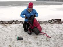En sjöräddare på skridskor - issäkerhet i tre steg