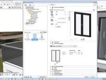 BIM med ArchiCAD: Intelligente BIM-objekter fra H-Vinduet Magnor