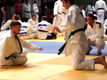 Reportage om Sverigelagets tävlan i judo under Special Olympics European Summer Games 2014