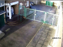 CCTV footage of the man police would like to speak to.