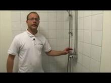 Titanias informationsfilm för vattenavstängning vid vattenläckage.