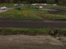 Suzuki Baleno Race på Skepptuna MK.