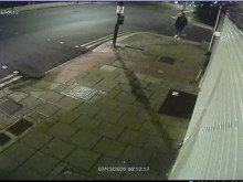 CCTV outside shop