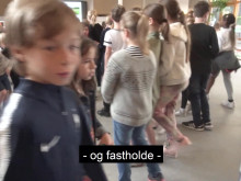 Sofie Carsten Nielsen (RV) på skolebesøg på Rygaards International School