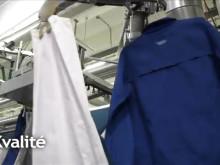 Hållbar textilservice